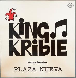 "Portada del vinilo ""Plaza Nueva"" de Kin Krible"